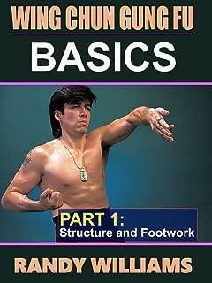 Wing Chun Gung Fu Basics #1 Structure & Footwork DVD Randy Williams