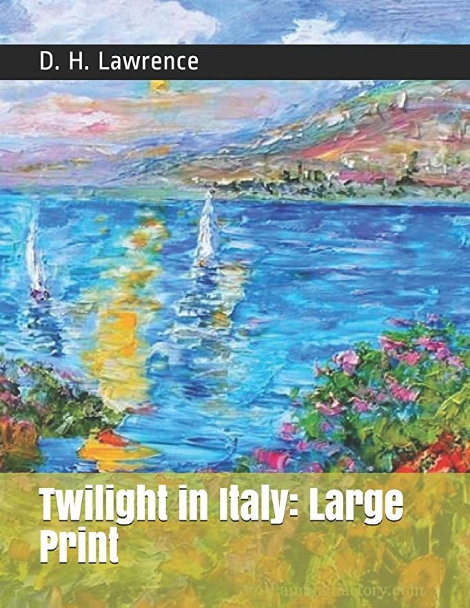 悲劇原子炉冷えるTwilight in Italy: Large Print