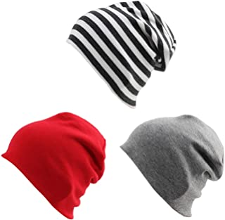 Cotton Kids Beanie Hat for Cute Baby Boy/Girl Toddler Ribbed Knit Children Winter Cap