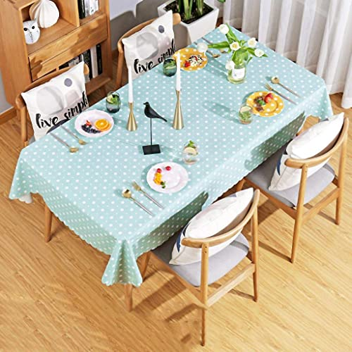 El ultimo 2018 WENYAO Waterproof Tablecloth Tablecloth Tablecloth Anti-scalding Oil-Proof Coffee tabmat Tabcloth Plastic tabcloth Rectangular Round  la red entera más baja