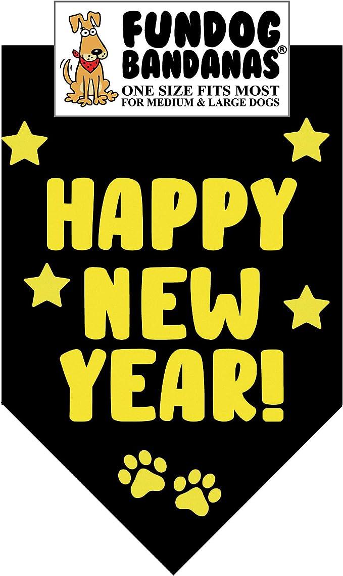 Happy New Year Bandana