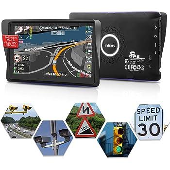 GPS coches, 7 Pulgadas Navegadores GPS para Coche, Navegador gps ...