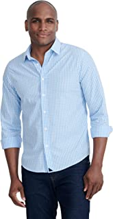 Carneros - Untucked Shirt for Men Long Sleeve, Light Blue...