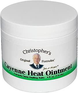 Cayenne Heat Ointment 4 fl. oz by Christophers Original Formulas