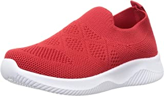 Walktrendy Unisex Sneakers-9 UK (29 EU) (10 Kids US) (wty1048_red