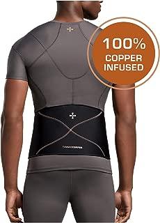 Tommie Copper - Men's Comfort Back Brace - Black - Large/XL