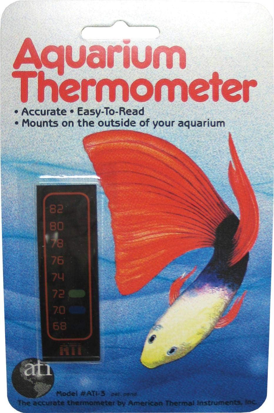American Thermal Overseas Luxury goods parallel import regular item Liquid Crystal Thermometer Sm Vertical Aquarium