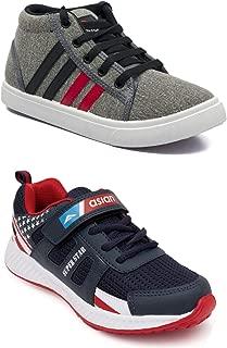 ASIAN Boy's Walking Shoes,Running Shoes,Laceup Shoes Mesh & Denim Sports & Casual