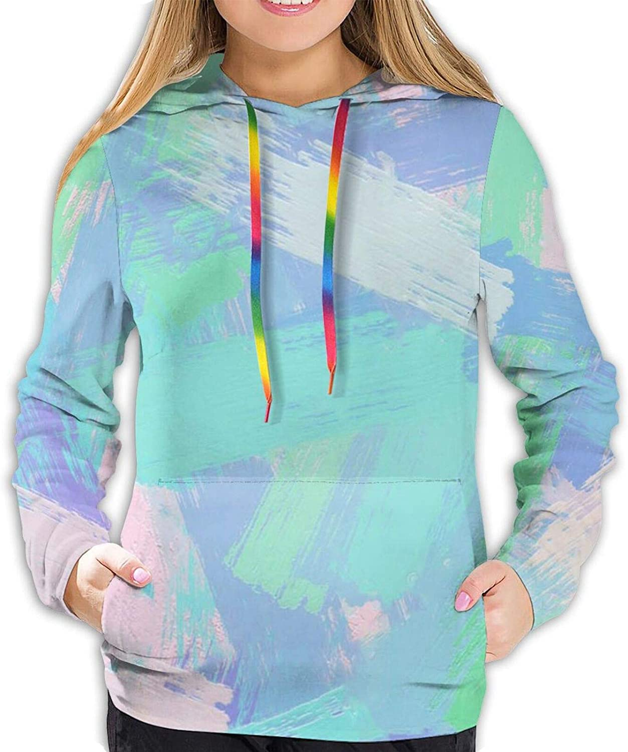 Fashion Max 20 OFF Colorful abstract painting Women mixture ...