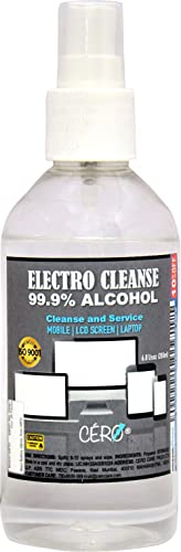CERO Electro San 99.9% Iso Propyl Alcohol Cleanse and Service Electronics (200ml)