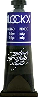 Blockx Indigo Oil Paint, 35ml Tube