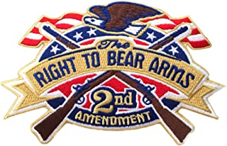 2nd Amendment - Right to Bear Arms - American Eagle - 3.5