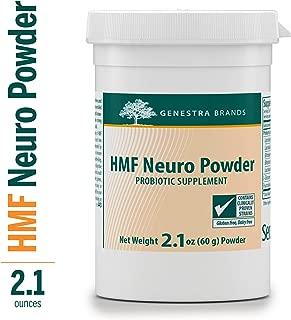 Genestra Brands - HMF Neuro Powder - Five Strains of Probiotics to Promote GI Health* - 2.1 oz (60 g) Powder