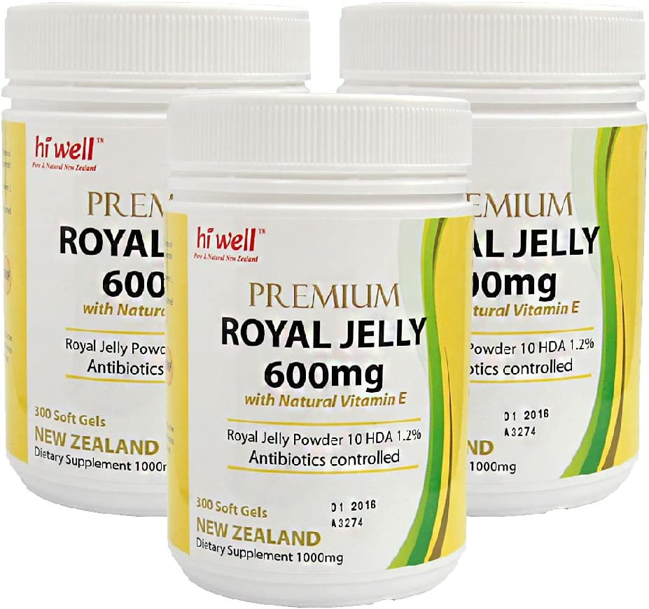 Hi Outlet SALE Virginia Beach Mall Well Premium New Zealand Bee Natural with V 600mg Jelly Royal