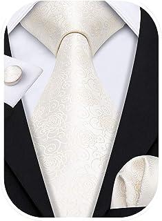 دکمه های گل Barry.Wang دکمه های دستمال مرطوب مردانه گردنبند عروسی را تنظیم کنید