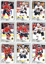 2018-19 O-Pee-Chee Hockey Chicago Blackhawks Team Set of 16 Cards: Patrick Kane(#20), John Hayden(#52), Erik Gustafsson(#89), Anthony Duclair(#113), Anton Forsberg(#147), Corey Crawford(#180), Patrick Sharp(#209), Connor Murphy(#233), Brent Seabrook(#257), Vincent Hinostroza(#286), Jonathan Toews(#305), Artem Anisimov(#351), Brandon Saad(#386), Duncan Keith(#407), Alex DeBrincat(#450), Nick Schmaltz(#493)