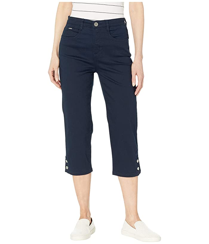 FDJ French Dressing Jeans Soft Hues Denim Suzanne Capris in Navy (Navy) Women