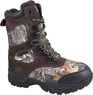 Smoky Mountain Boys' Camo Sportsman Insulated Hunting Boot Round Toe