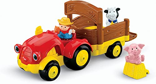 Fisher-Price Peu People Tow 'n Pull Tractor(Discontinued by hommeufacturer) by Fisher-Price