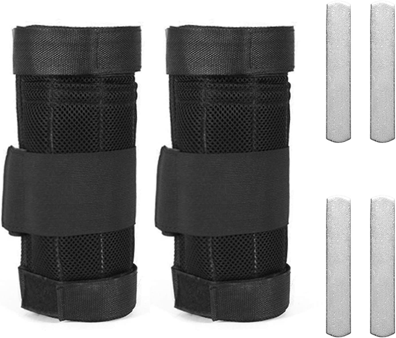 Daseey 2 Packs Adjustable Ankle Weight Weighted Ranking TOP6 Wor Leg Miami Mall Exercise