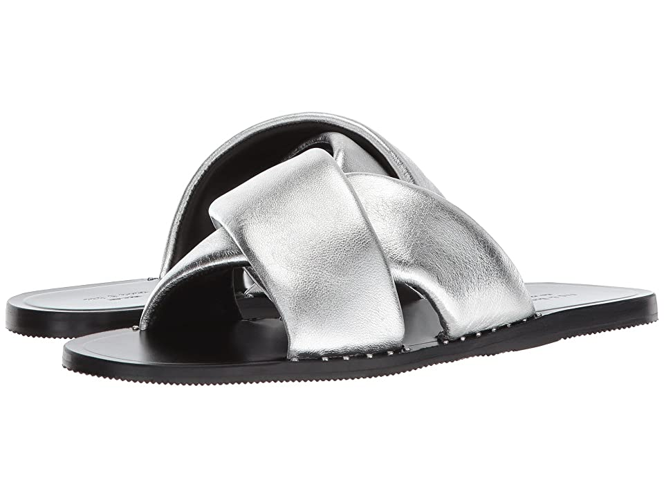 rag & bone Keaton Slide (Silver) Women