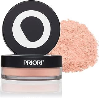 Priori Uber Finishing Powder fx350 | All-Natural, Long Lasting Loose Setting Powder - Shine & Oil Control – Translucent Mineral Veil 12g