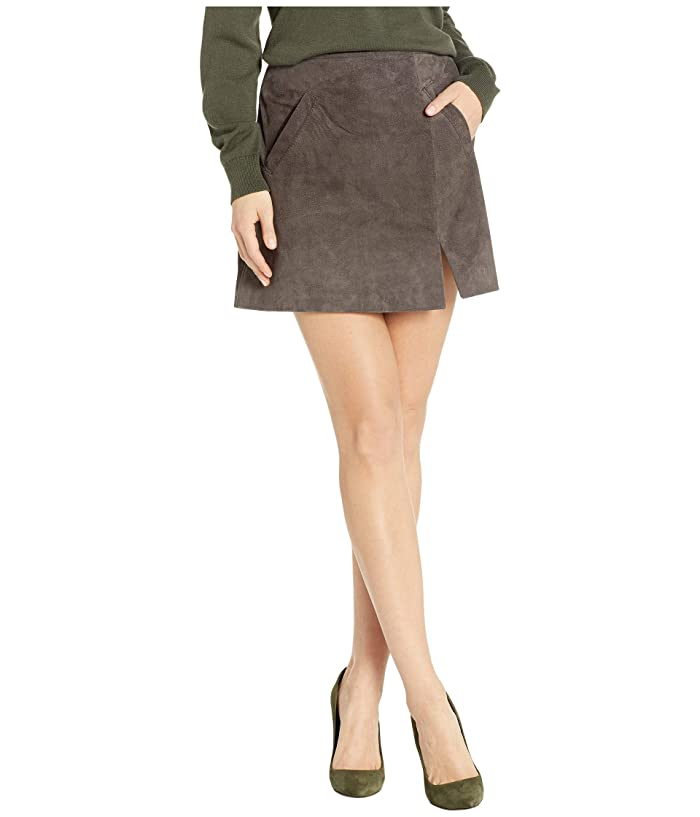 2304bf76f4 Blank NYC Suede Skirt w/ Side Slit at Zappos.com