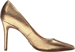 Womens Claire Pump Pointed Toe Classic, Gold, Size 5.5