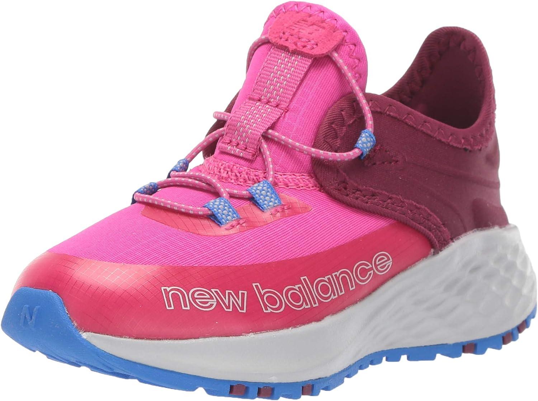 New Balance Unisex-Child Fresh Foam Trail Roav V1 Bungee Running Shoe