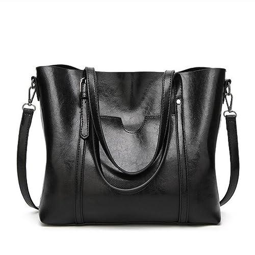 b43f6236d528 OURBAG Women Top Handle Satchel Handbags Shoulder Bag Tote Purse