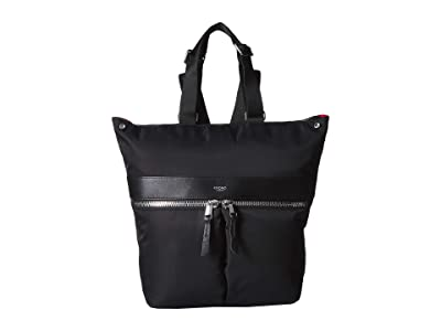 KNOMO London 14 Gilbert Convertible Tote (Black 2) Bags