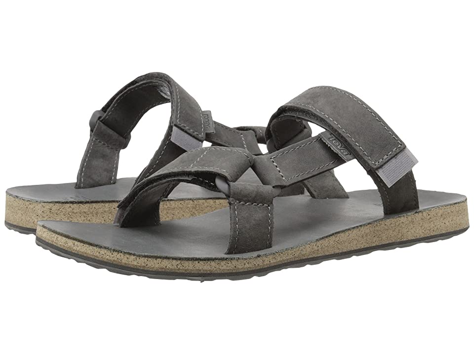 Teva Universal Slide Leather (Grey) Men