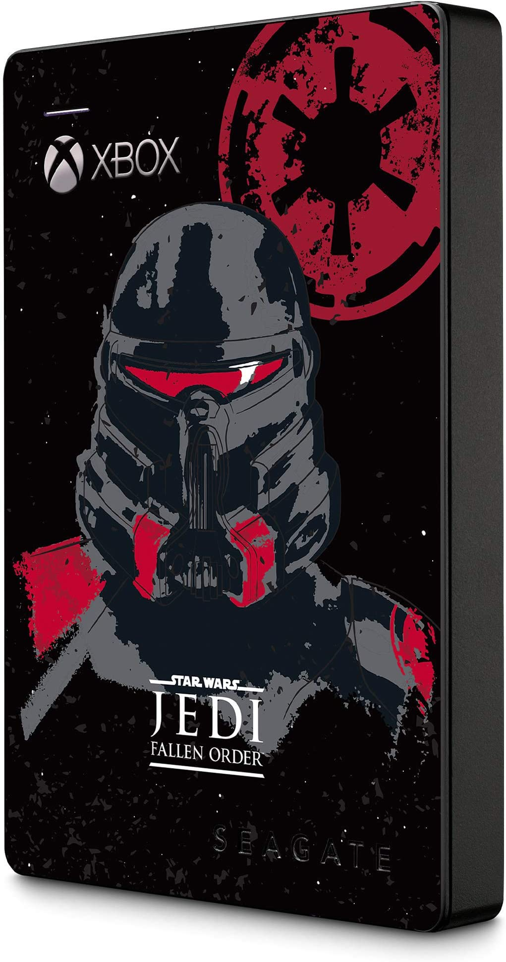 Seagate Game Drive For Xbox 2TB External Hard Drive Portable HDD – USB 3.0 Star Wars Jedi: Fallen Order Special Edition, Designed For Xbox One, 1 Year Rescue Service (Stea2000426)