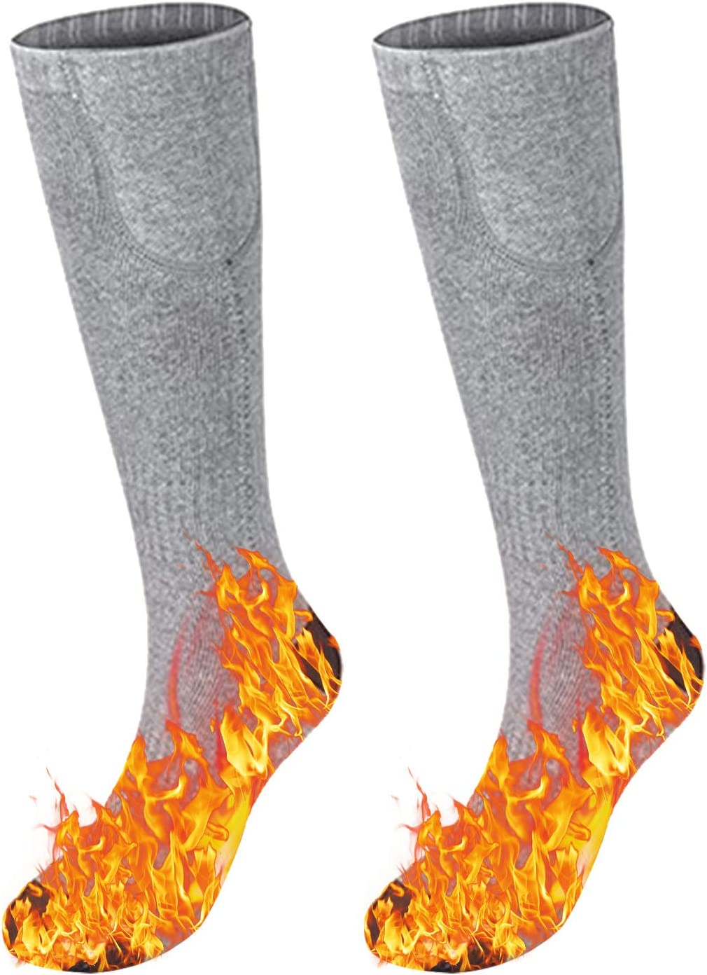 discount VISLONE Heated Socks for Men San Diego Mall Washable Women Electr Rechargeable