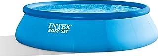 Intex Easy Set Piscina Set, Azul, 396x 396x 84cm, 7,29L, 28142–GN