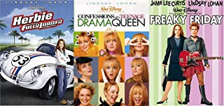 Queen Friday Love Disney Lindsay Lohan Movie Collection Herbie Love Bug Fully Loaded + Freaky Friday & Confessions of a Teenage Drama Queen Film Bundle
