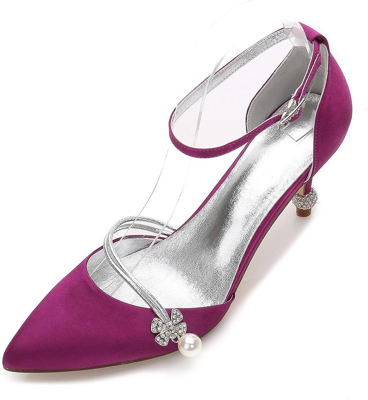 L@YC Damen Damen Hochzeitsschuhe 17767-29 Sommer Basic Pump Schuhe Kegelabsatz Closed Toe Hochzeit  Abend  online zu verkaufen