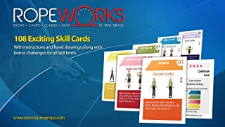 Jump Rope Tricks for Kids - Skill Cards