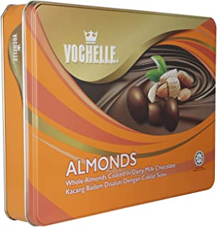 Vochelle Gift Covered Almond Chocolate, 380 g