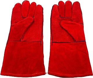Mignon Lapin 耐熱 グローブ 革製 選べる カラー 手袋 アウトドア キャンプ 焚火 薪 ストーブ グリル BBQ 熔接 作業