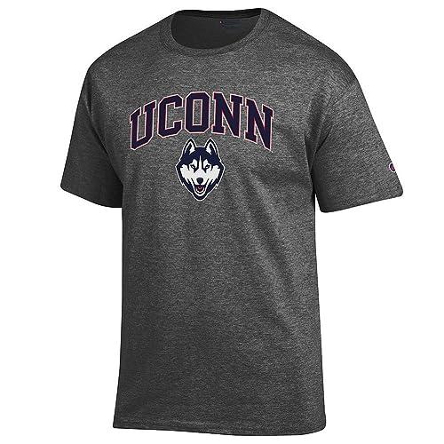 29e32403e0dbd9 Elite Fan Shop NCAA Men's Short Sleeve T-Shirt Charcoal Gray