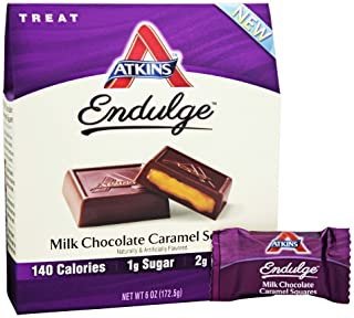 Endulge Milk Chocolate Caramel Squares 1 Box
