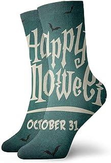 Hunter qiang, Calcetines para mujeres y hombres, para Halloween, Vector Ilustración, 30 cm