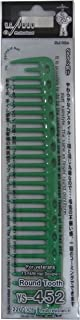 YS Park Mid Length Cutting Comb #337 In Green From ProHairTools