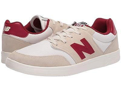 New Balance Numeric 425 (Tan/Burgundy) Skate Shoes