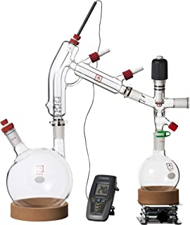 Across International Clear2 Ai 2 L Short Path Distillation Kit with Digital Thermometer