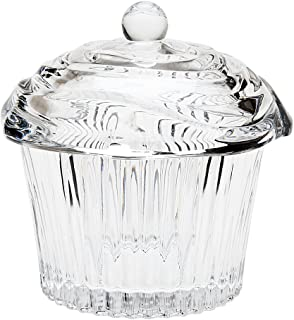 Godinger 64601 Crystal Cupcake Covered Box,