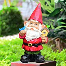 VAINECHAY Garden Gnomes Statues Outdoor Decor Large Garden Gnome Statue Funny Gnomes Decorations for Outside Yard Clearanc...