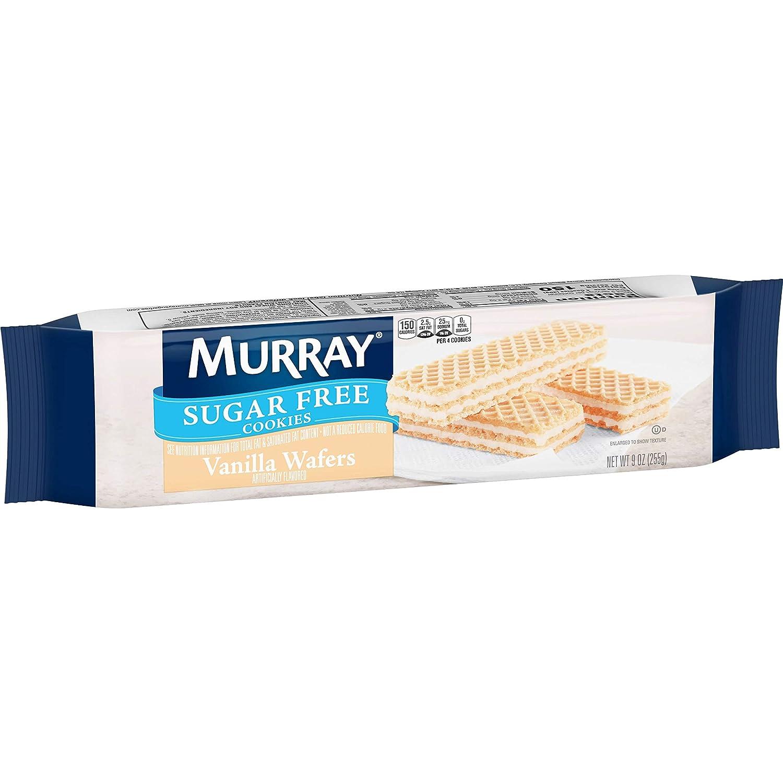 Denver Mall Murray Sugar Free Cookies Vanilla Wafers oz 9 of shipfree Sleeve Pack 1
