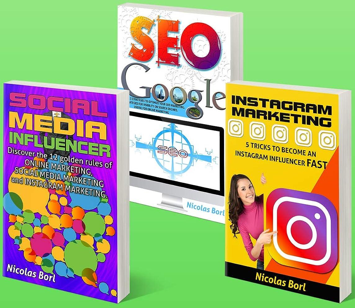 不名誉落花生コンパイルSOCIAL MEDIA INFLUENCER – INSTAGRAM MARKETING – SEO GOOGLE: Collection of 3 Books: 1° Social Media Influecer – 2° Instagram Marketing – 3° Seo Google (English Edition)